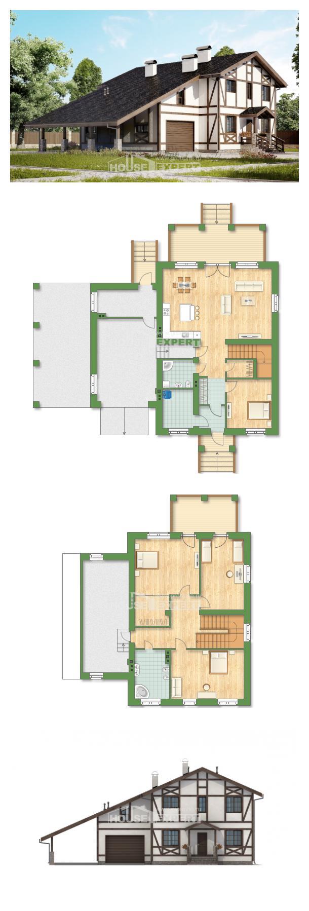 Проект дома 250-002-Л   House Expert